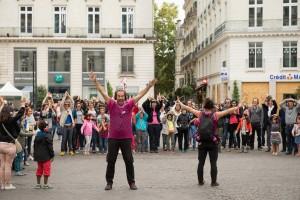 Un spectacle sonore et participatif autour du patrimoine nantais.